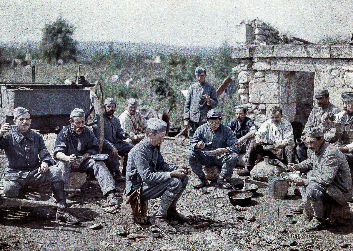 Rare Ww1 Pictures In Color
