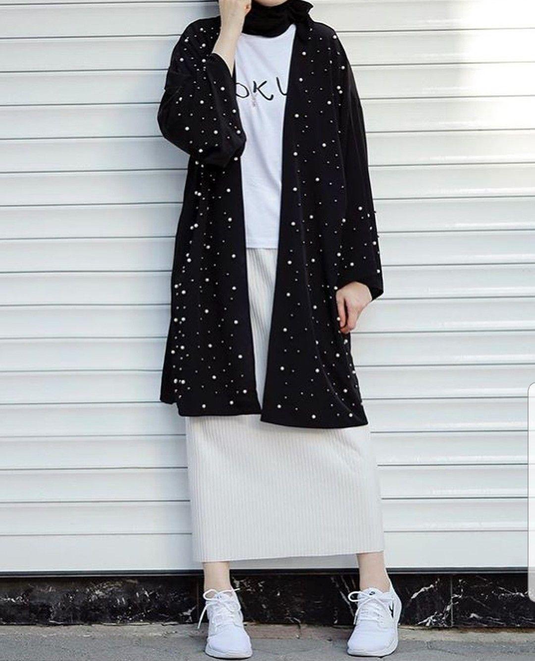FOLLOW*AYESHATABASSUN5*  Model pakaian hijab, Gaya busana, Gaya