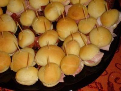 panini per feste con il TM31 - Blog - Cookaround forum