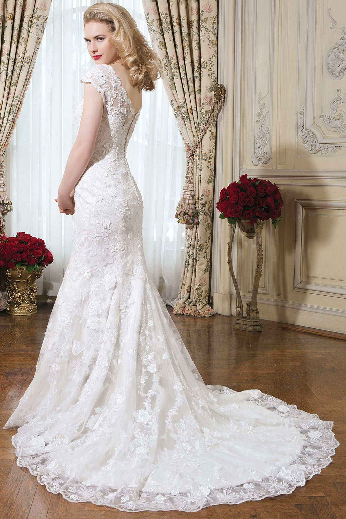 Hayley by Justin Alexander (style: 8754)   bride dress   Pinterest