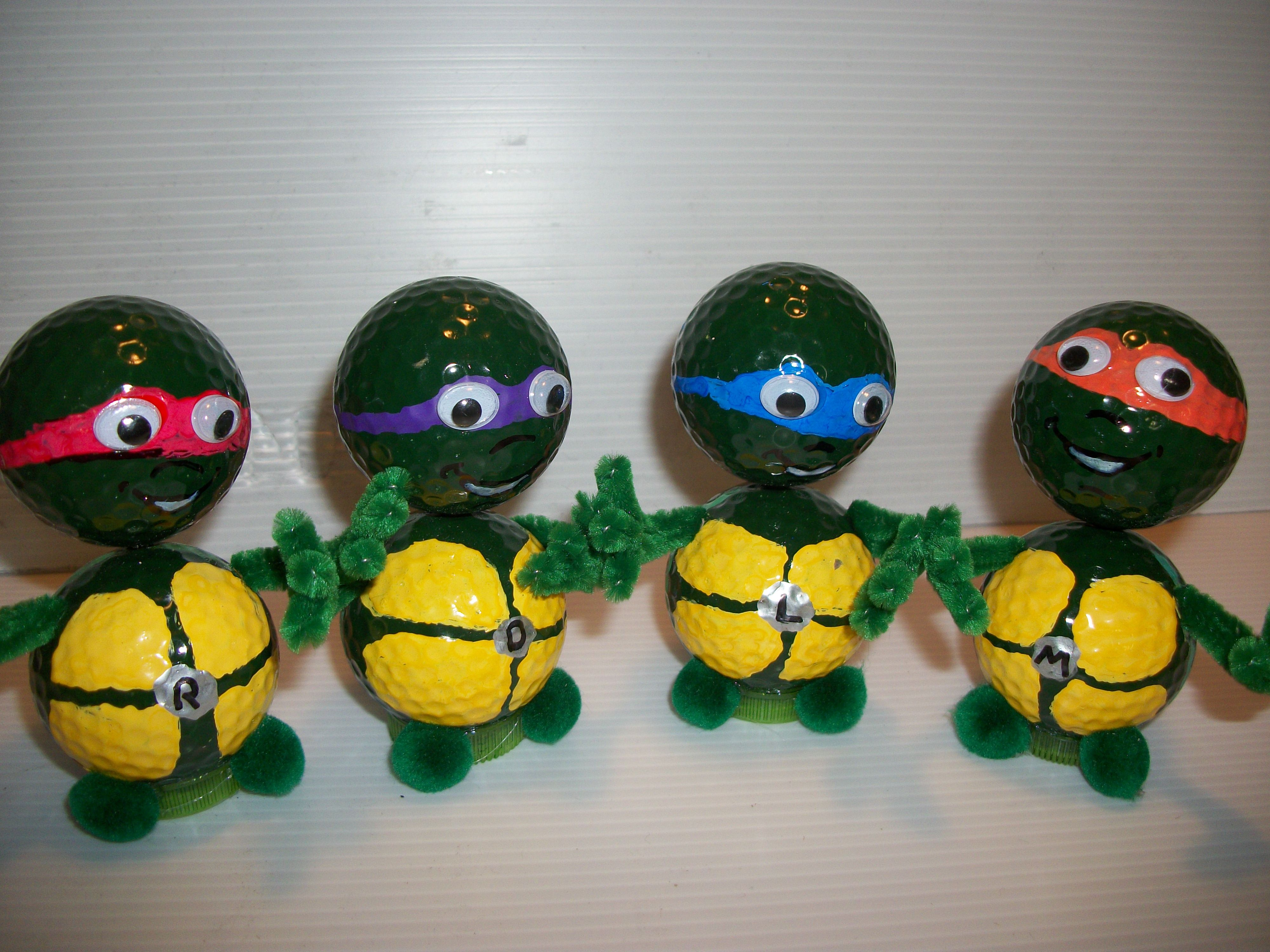 Ninja Turtles Crafts Golf Crafts Golf Ball Crafts