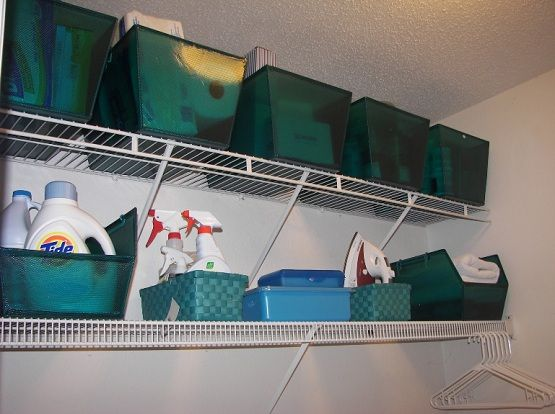 Wall Mounted Laundry Room Storage Shelves Laundry Room Storage