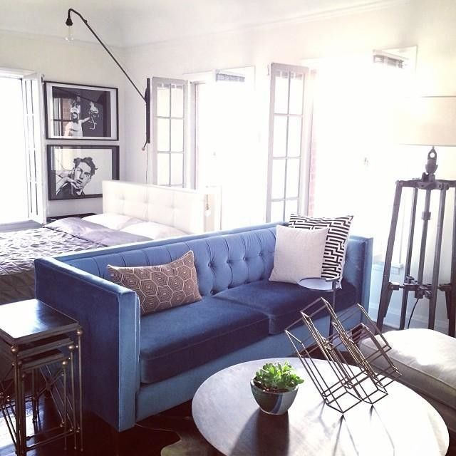 Apartment Decor, West Elm Rochester Sofa