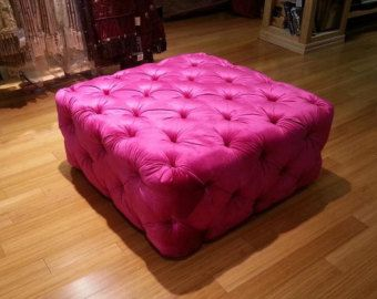 Astonishing Modern Tufted Ottoman Modern Button Tufting Bench Evergreenethics Interior Chair Design Evergreenethicsorg