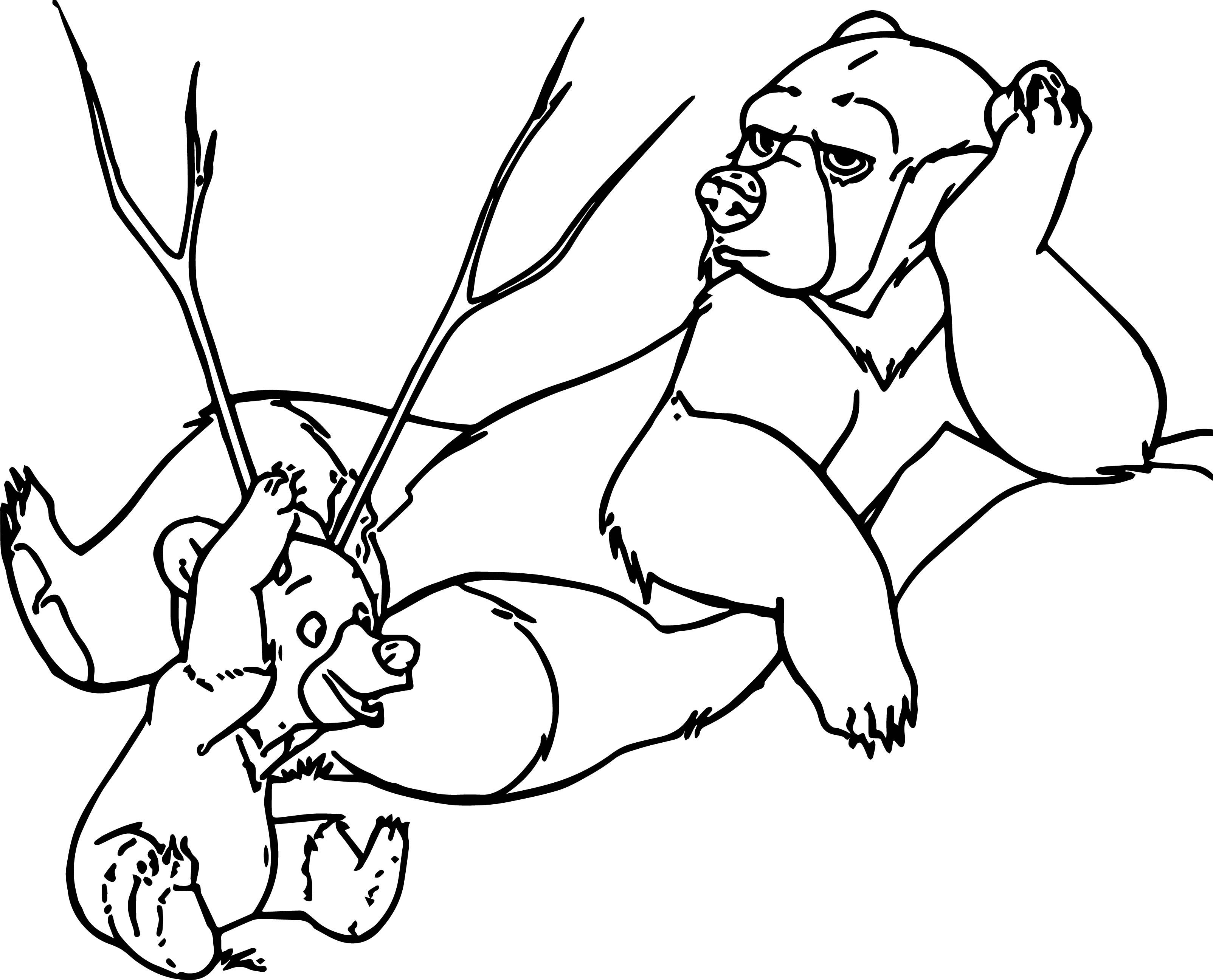 Disney Brother Bear Coloring Pages | wecoloringpage | Pinterest