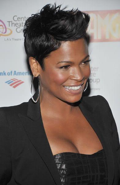 Nia Long Her Family Is Of Afro Trinidadian Descent Short Sassy Hair Short Hair Styles Sassy Hair