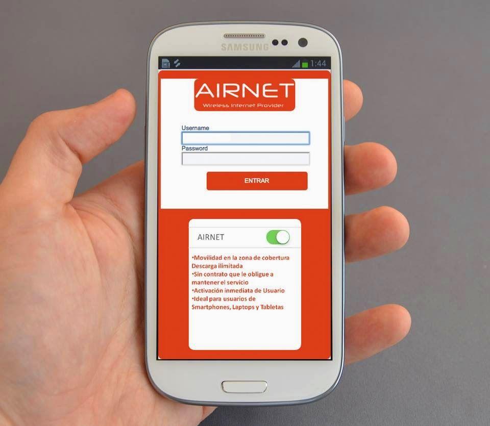 Airnet Hot Spot Template Free Templates