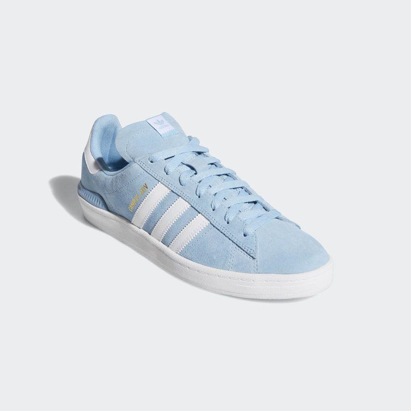 cápsula tenga en cuenta Tres  adidas Campus ADV Shoes - Blue | adidas US | Blue shoes, Blue adidas, Shoes