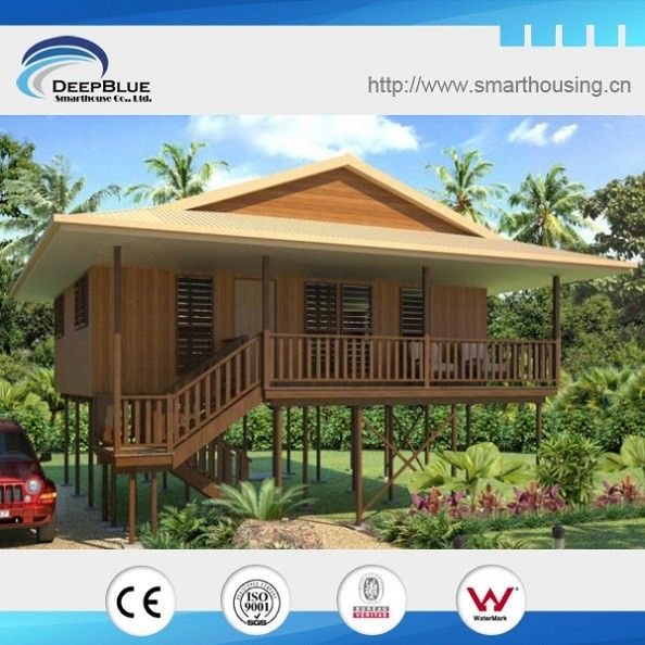 This Is The Bungalow Made From Light Steel Frame System Anti Cyclone Earthquake Proof All Bungalow House Design Philippines House Design Wooden House Design
