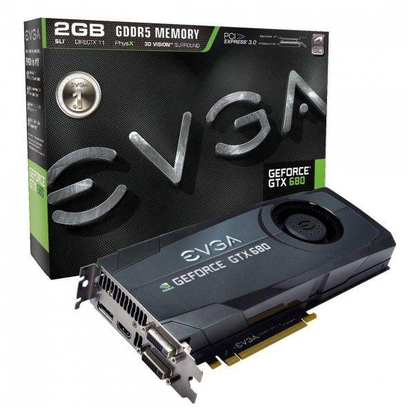 EVGA GeForce GTX 680 2048MB GDDR5 Graphic Card