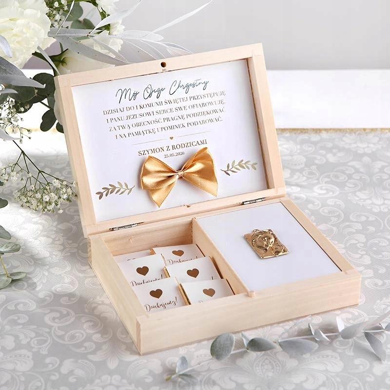 Podziekowanie Dla Chrzestnych Dziadkow Eleganckie Place Card Holders Gifts Gift Wrapping