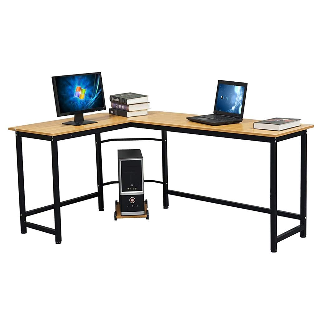 L Shaped Desktop Flat Angle Computer Desk Home Office Furniture Study Dorm Room Writing Desktop Computer Desk Home Office Furniture Desk Home Office Furniture