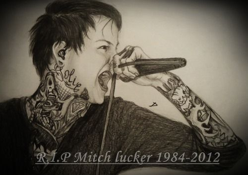 mitch lucker from suicide silence r i p