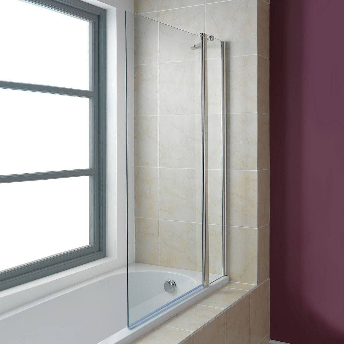 product specification weight 15 kg width 990 mm height 1400 mm hinged double bath screen victoria plumb inc delivery