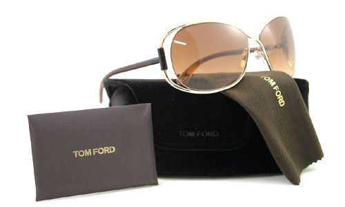 ad649e9404df5 TOM FORD SUNGLASSES TF156 TF 156 28F BROWN EUGENIA Tom Ford.  244.00. Save  48% Off!
