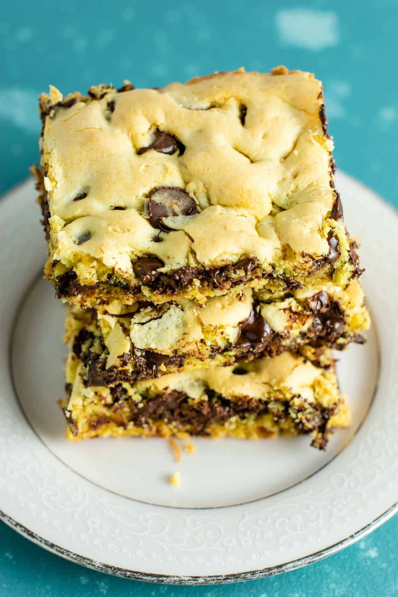 Cake Mix Cookie Bars Make Chocolate Chip Cookie Bars With Cake Mix