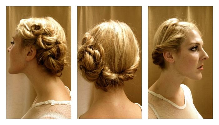 Gallery For > 1920s Updo Tutorial