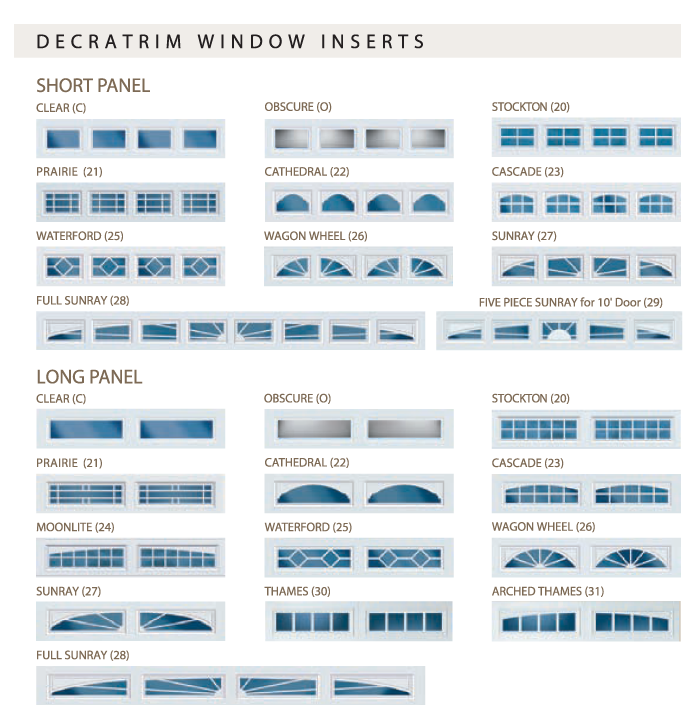 garage door window insertsFeldco Garage Door Window Inserts  Studio Ideas  Pinterest