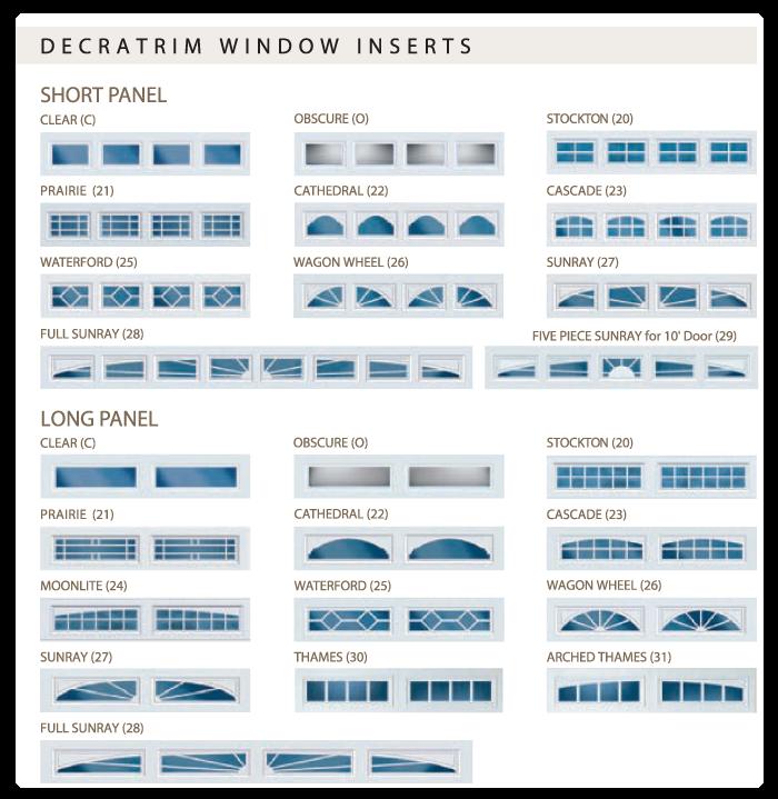 Feldco Garage Door Window Inserts Garage Doors Garage Door