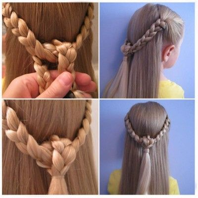 Peinados De Trenzas Para Nina Paso A Paso Faciles Peinados De Ninas Faciles Peinados Faciles Paso A Paso Peinados Faciles Pelo Corto