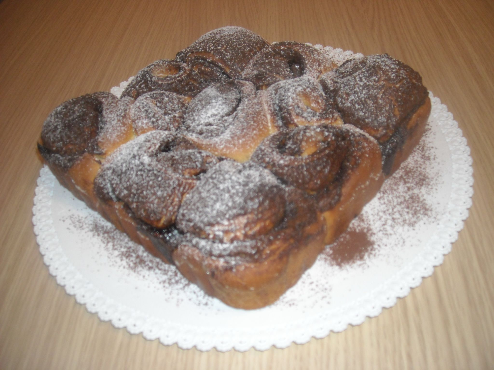 chocolate desert rose cake...