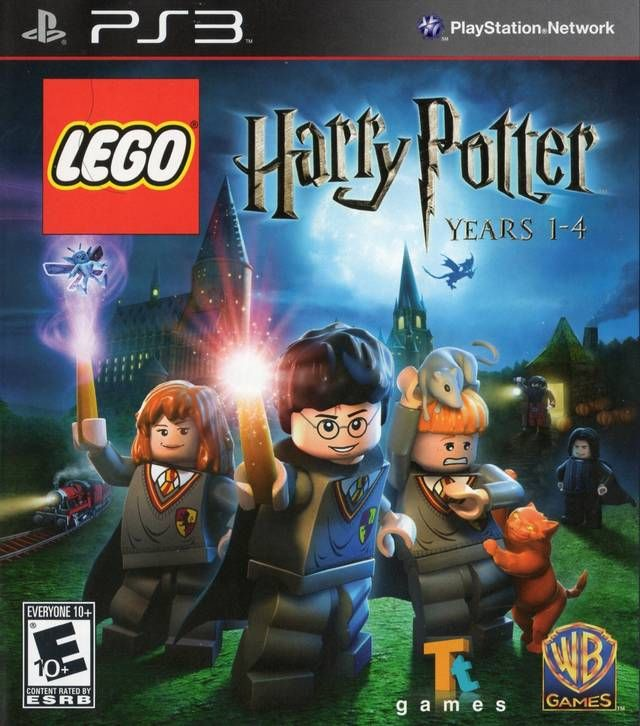 Lego Harry Potter Years 1 4 Box Shot For Playstation 3 Lego Harry Potter Harry Potter Years Harry Potter Xbox