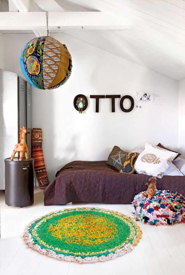 Nordic style kid room (seen in Decora) For the Home