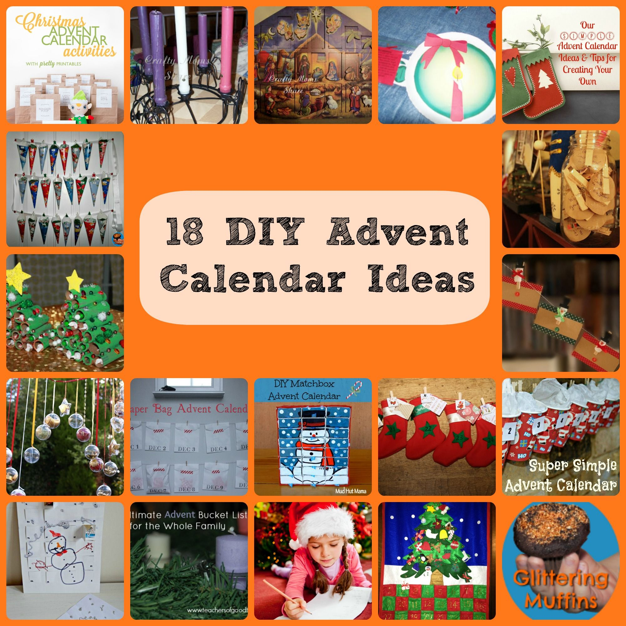Calendar Advent Diy : Diy advent calendar ideas kid ger network