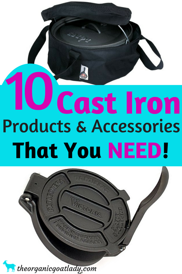 10 Cast Iron Products and Accessories That You NEED To Have In Your ...