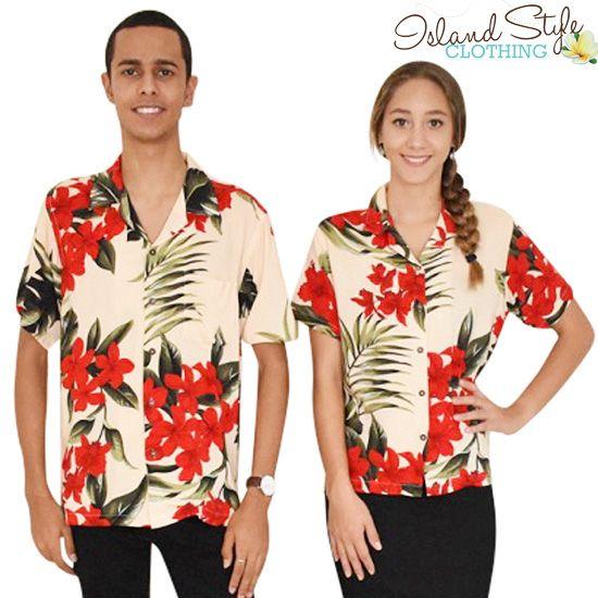 d4db062603f9 Mens and Ladies Hawaiian Shirts make fantastic tropical uniforms for bar  staff