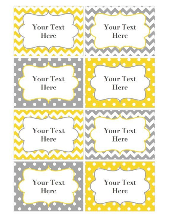 Pin By Etsy On Products Pinterest Name Tags Printable Name Tags