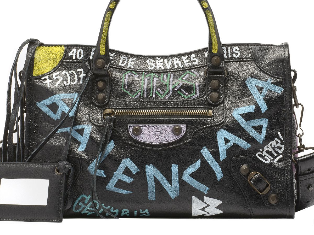 Balenciaga Graffiti Classic City