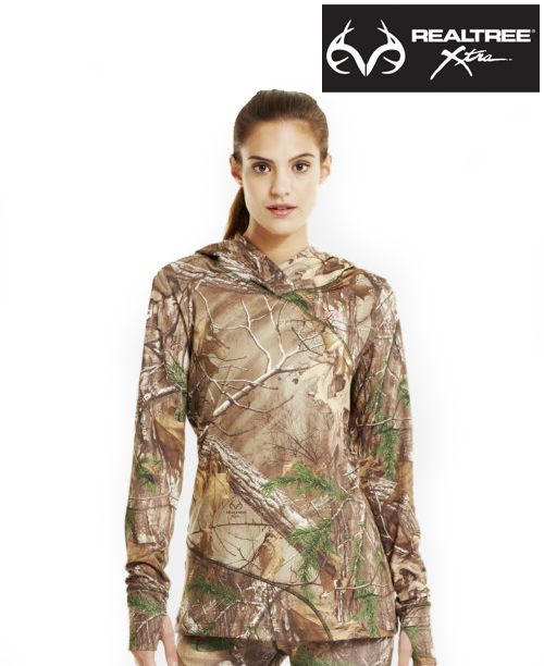 Realtree Camo Yoga Shorts Color Options By Girlswithguns22: Women's Under Armour #RealtreeXtra #Camo Scent Control