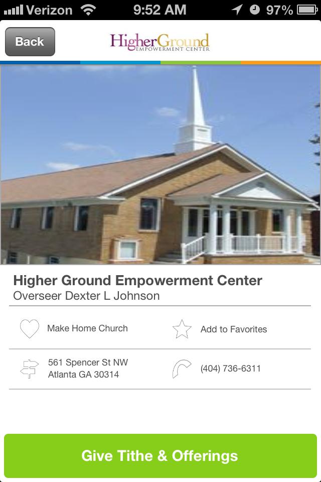 Higher Ground Empowerment Center in Atlanta,