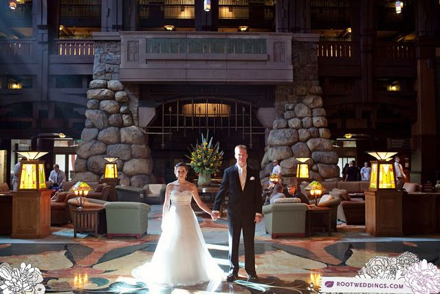 Disney S Grand Californian Hotel Wedding Photo By Root Photography