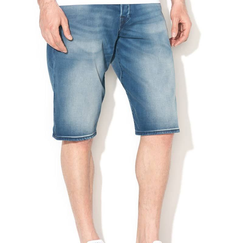 slimming pantaloni scurți de denim