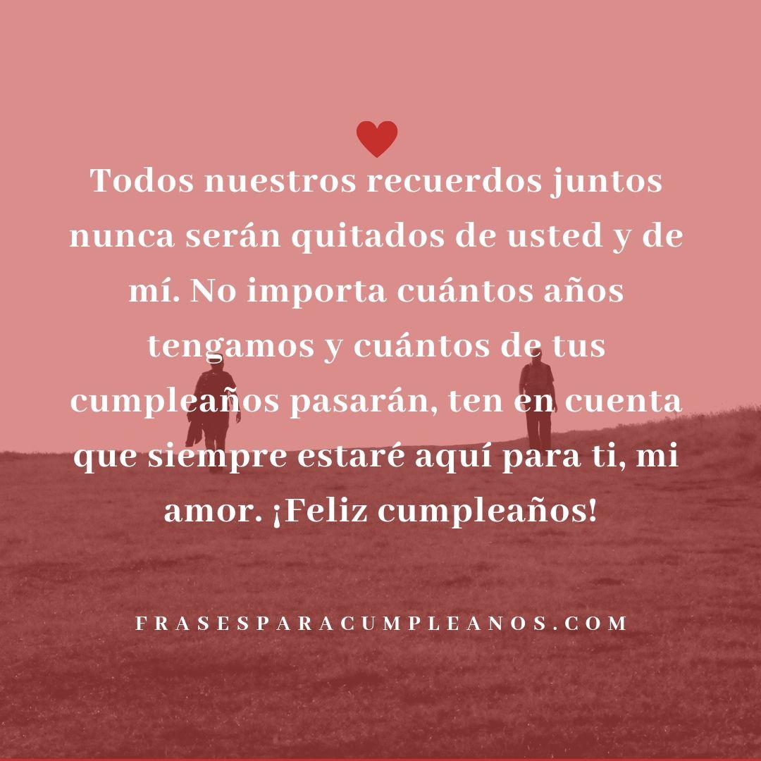Frases De Cumpleanos Para Mi Amor Con Imagenes Feliz