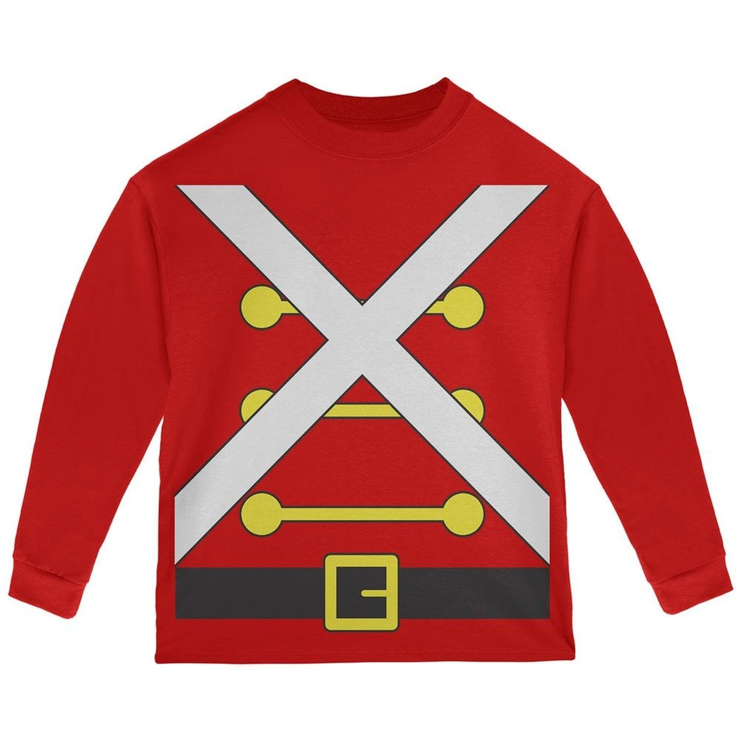 Christmas Toy Soldier Nutcracker Costume Mens Soft T Shirt