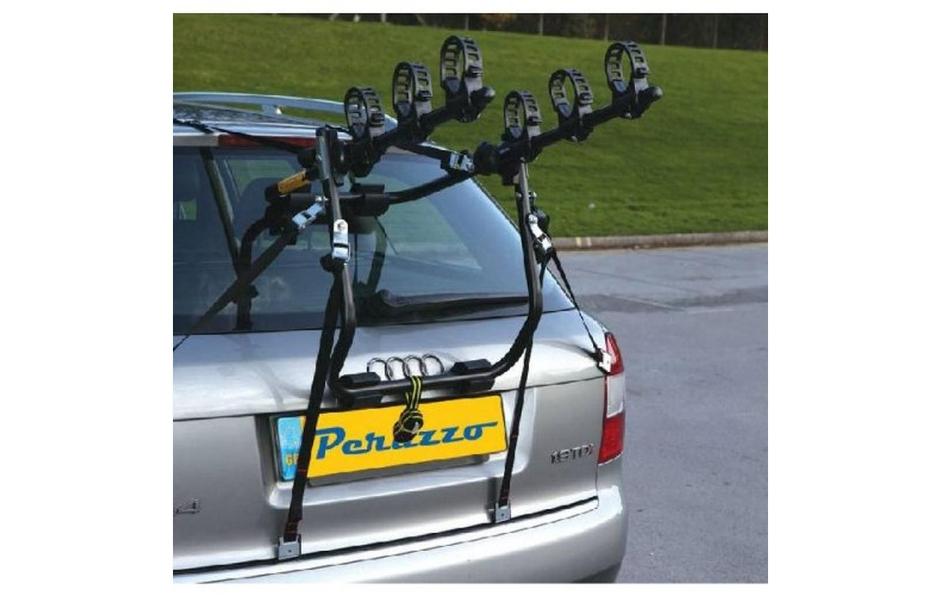 Peruzzo Verona 3 Bicycle Car Boot Fitting Bike Rack Matt Black