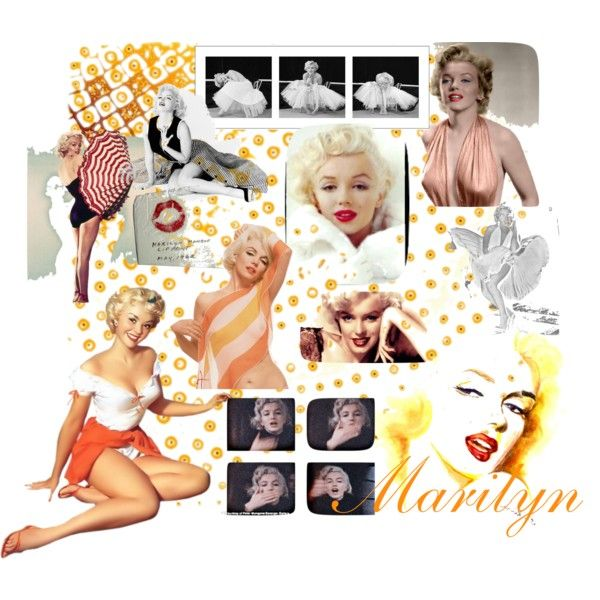 """""""Marilyn"""" by w-scribner on Polyvore"""