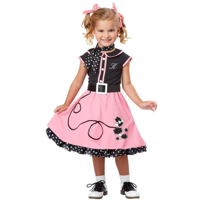 Poodle Skirt Halloween Costumes For Kids And Adults Are A Popular Fun Outfit All