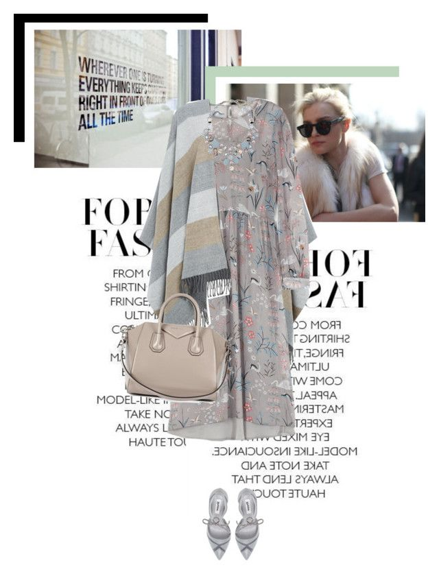 Unwritten by veronicamastalli on Polyvore featuring polyvore fashion style Emma Cook Whistles Dune Givenchy Chico's clothing