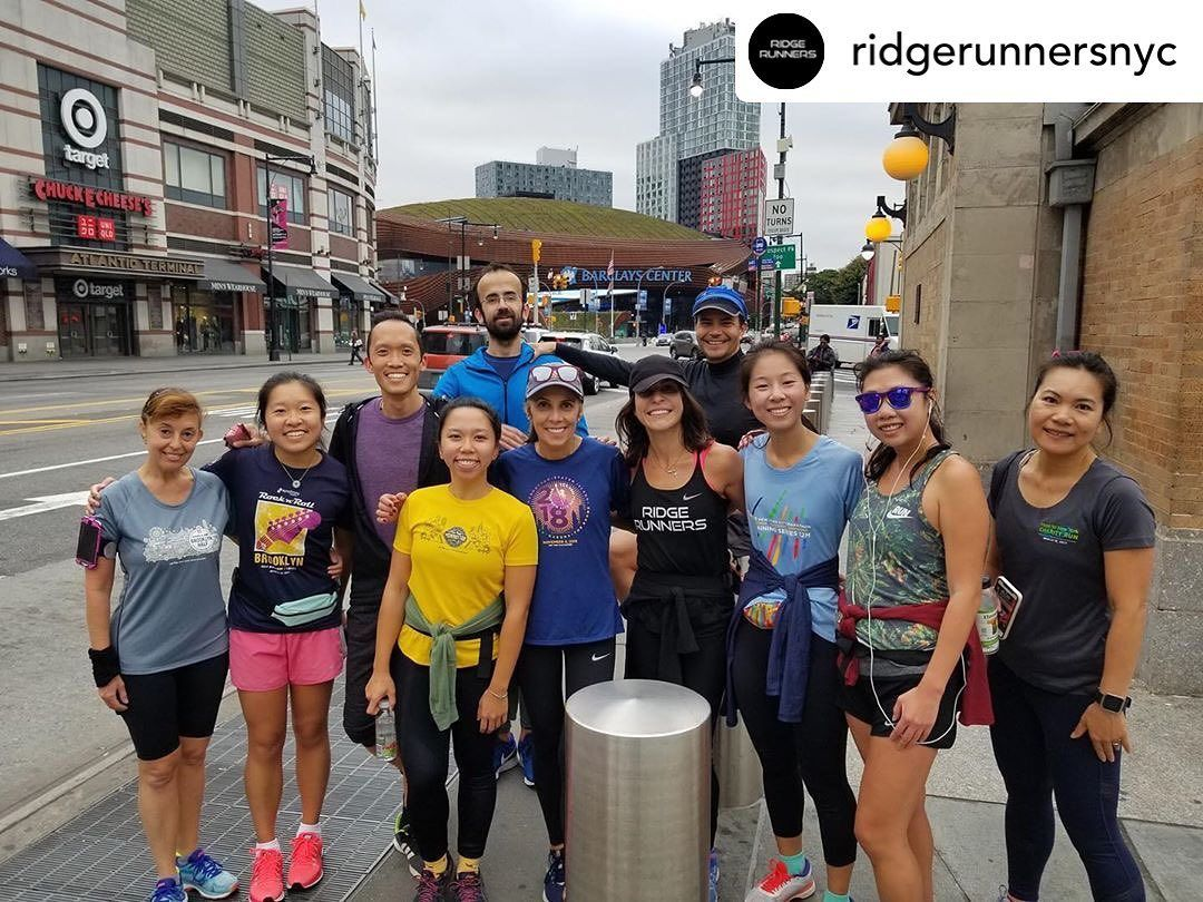 Join @ridgerunnersnyc tomorrow for their Friday morning ☀️ run at 6 am🏃‍♀️🏃‍♂️. Meet up is located a...