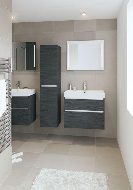 Bruynzeel Pinto 75 cm // badmeubel kolomkast badkamer sanitair ...