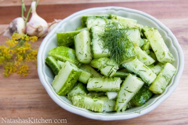 Cucumber Summer Salad,5