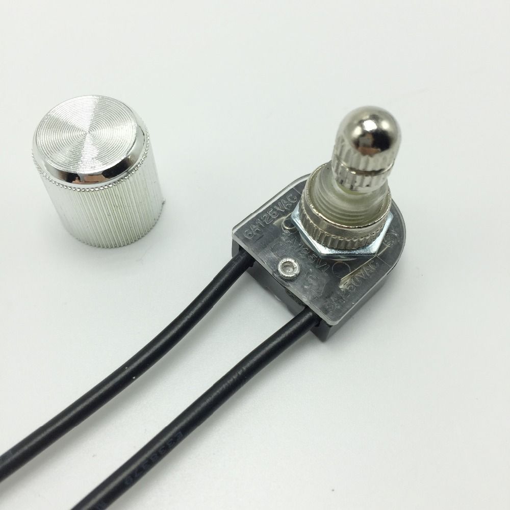 3a Lamp Rotary Switch Ceiling Light Wall Wiring A To Knob 2 Wire Single Control 3pcs Lot Free Shipping