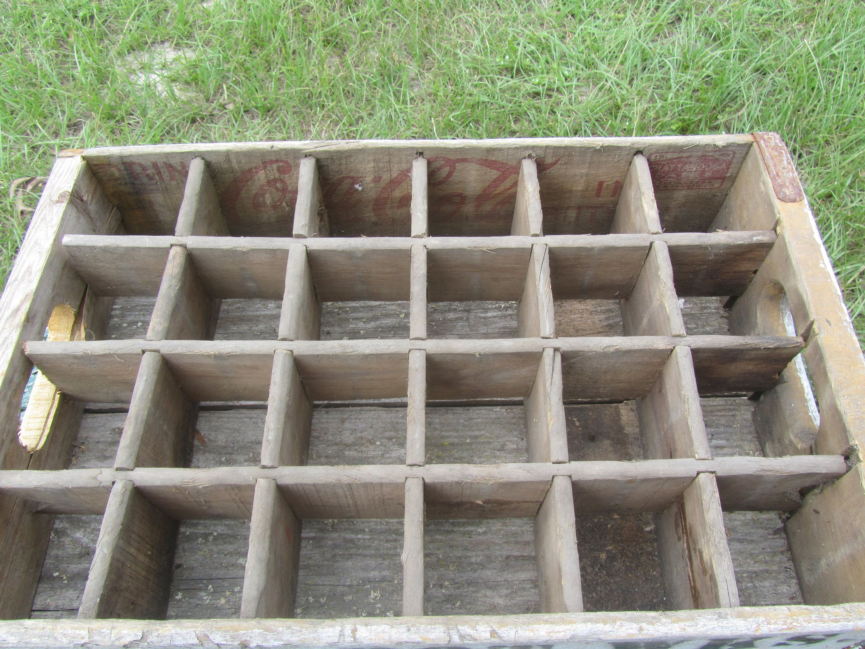 Coke Crate, Sp Gr Bot Wks, Spring Grove Mn Crate,