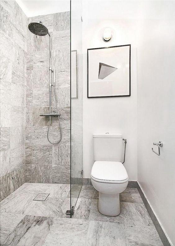 La petite salle de bains - un grand défi et un vrai plaisir toilet
