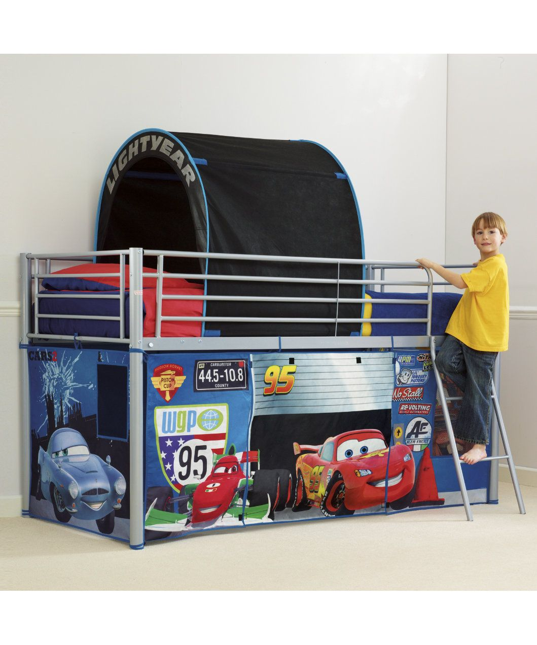 World S Apart Cabin Bed Tent Pack Disney Cars Lukas Blackout