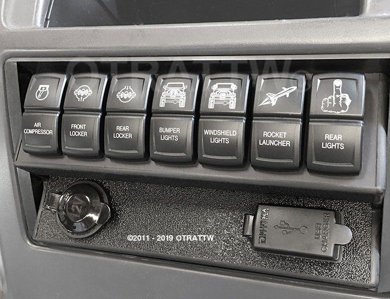 7 Switch Jeep Tj Lj Panel In 2020 Jeep Tj Dream Cars Jeep Jeep Xj Mods